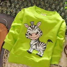 1 шт./лот); хлопок; ; Милая верхняя одежда для малышей с рисунком зебры