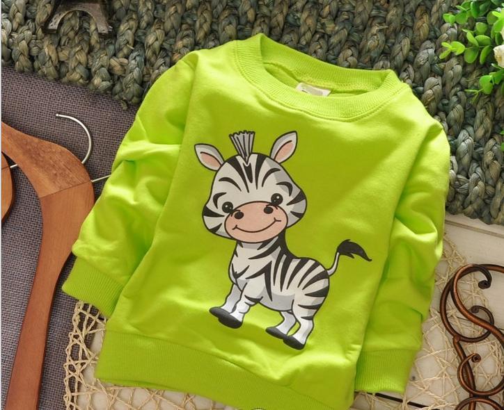 (1 Teile/los) 100% Baumwolle 2017 Nette Kleine Zebra Baby Oberbekleidung Preisnachlass