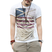 Plus Size M-3XL Brand New Summer Style Cotton Men Clothing Male Slim Fit T Shirt Man T-shirts Casual T-Shirts Mens Tops Tees