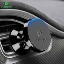 FLOVEME Magnetic Car Mobile Phone Holder 360 Degree Magnet Universal Air Vent Holder GPS Mount Holder For iPhone 6 7 8 X Samsung