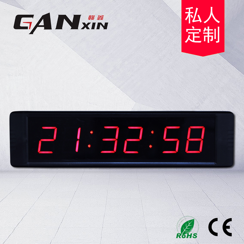 1inch 4digits/1inch 6digits/1.8inch 4digits/1.8 Inch 6digits Match Timer Led Countdown Timer Stopwatch Boxing Countdown Timer