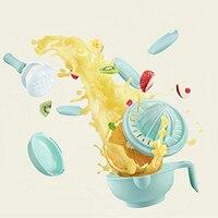 9 in 1 Food Masher Maker Portable Baby Feeder Food Processor Smasher Serve Bowl Vegetables Fruit Ricer Grinder