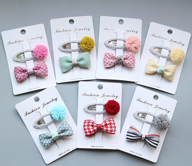 fashion bowknot girls kids hair clip bow hairpin bobby pins accessories for children hairgrip hair barrette headdress hairclip