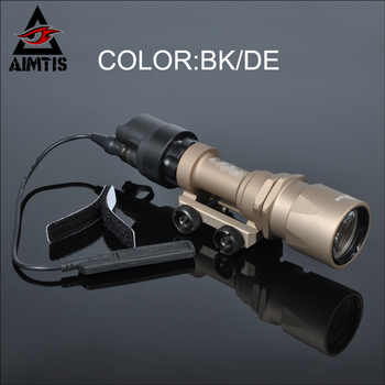 AIMTIS Best M951 Tactical LED Flashlight AR Military Weaponlight Constant and Momentary Output with Tape Switch for Discount - DISCOUNT ITEM  47% OFF Sports & Entertainment