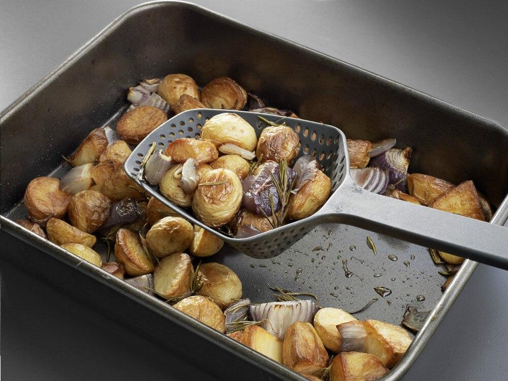 New-Arrival-Black-Nylon-Pasta-Scoop-Strainer-Colander-Kitchen-Appliances-Cooking-Tools (2)
