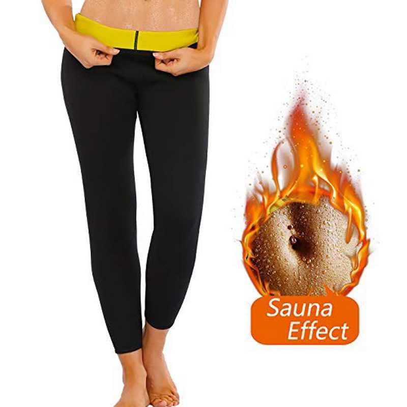 Женские штаны для бега новые термо мягкие спортивные штаны для сауны женские штаны стрейч Высокая талия тонкий Jogger спортивные фитнес штаны Одежда
