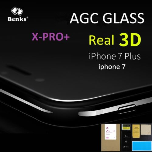 imágenes para Benks x-pro de pantalla 3d protector de pantalla de cristal templado curvado para iphone 7/7 plus