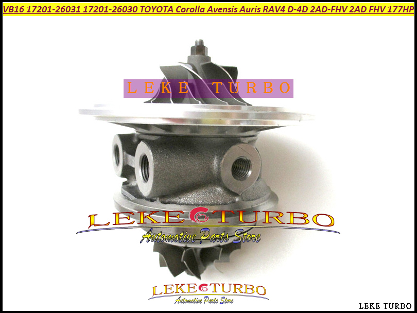 цена на Turbo CHRA Core RHF5V VB16 17201-26031 1720126031 17201 26031 17201 26030 For TOYOTA Corolla Auris RAV4 Verso D-CAT D-4D 2AD FHV