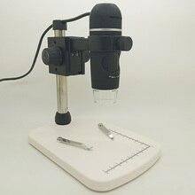 Discount! 10-300X USB Microscope 5MP LCD Digital Microscope Mac Windows Camera Video Microscope Support 6 Languages 8 LED Lights Magnifier