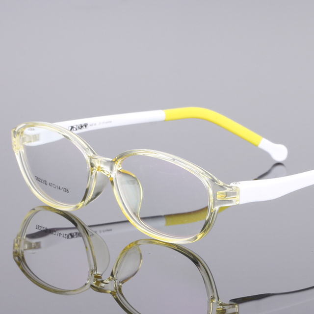 TR90 Trumpet Glasses Boy Girl Eyeglasses Lightweight Flexible Eyewear Frame Children Prescription Glasses frame 8222