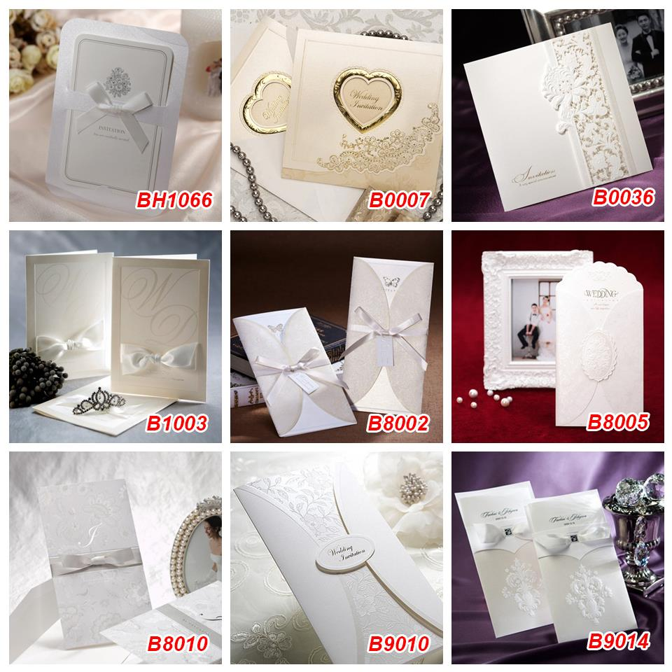 Aliexpress Buy Retail 1Pcs Wishmade Laser Cut Wedding – Invitation Cards Handmade