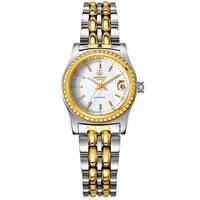 Sekaro Швейцарии часы женщины люксовый бренд автоматический Механическая принцесса тенденции моды дамы водонепроницаемый белый нержавеющая ...