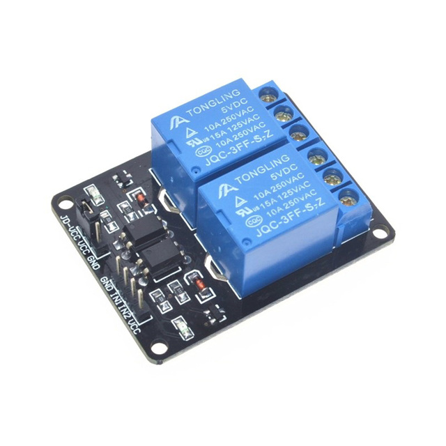 2 Channel 5V Relay interface board AC250V 10A /DC30V 10A Relay Module with optocoupler