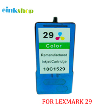 Free shipping For Lexmark 29 Colour Ink Cartridges For Lexmark X2500 X2530 Z1300 X2510 X5075 Z1310 X5490 X5495 Z845 Z1320 цена