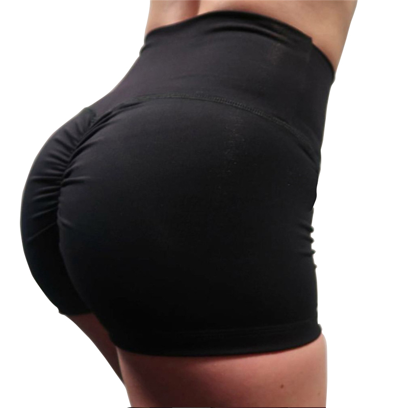 Ovesport High Waist Women Workout   Shorts   Fitness   Shorts   Sexy Push Up Folds Breathable Women   Short   Slimming Sportswear For Female