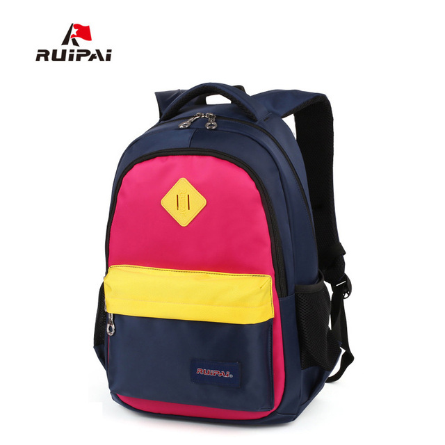RUIPAI Brand School Bags for Girls Durable Backpack Schoolbag High Quality  Mochila Backpacks Reinforcement Kids Baby 789d22c6bfdea