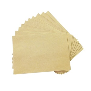 Image 4 - 100 PCS/lot nouveau mignon Vintage Kraft papier enveloppe 160*110mm mariage cadeau enveloppes fenêtre carte enveloppe