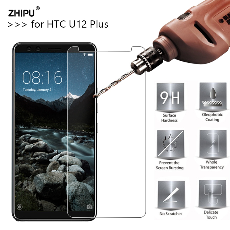 """2.5D 0.26Mm 9H Premium Tempered Glass For Htc U12 Plus U12+ 6.0"""" Display Protector Toughened Protecting Movie For Htc U12 Plus"""