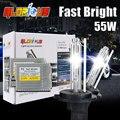 HID xenon conversion kit lastre Delgado 55 w F5 Rápido brillante H1 H3 H4-1 H7 H8 H9 H10 9004 9006 881 880 D2S xenon h7 6000 k