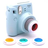 4 قطع اللون تصفية مجموعة قرب عدسة ل فوجي فوجي فيلم instax ميني 9 8 7 ثانية-في كاميرا بفيلم من الأجهزة الإلكترونية الاستهلاكية على