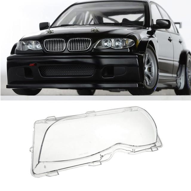 Do Lado Do Motorista esquerda Farol Lente Tampa De Plástico Para BMW E46 3-Series 4DR 2001 2002 2003 2004 2005 63126924045 peça de Reposição
