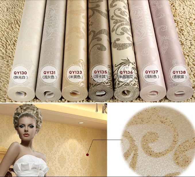 High-grade environmental protection European classic pattern Foam in quality of life wall stickers wall paper Wallpaper fashion environmental protection in india role of supreme court