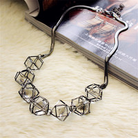 Summer Crystal Short Necklace Women Chokers Necklaces Free Shipping