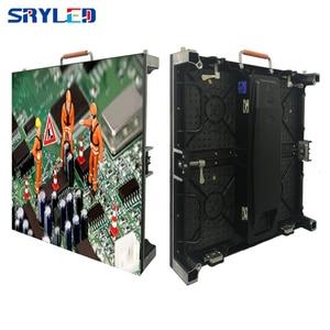 Image 2 - جديد 500*500 مللي متر خزانة p3.91 داخلي led تأجير شاشة عرض led شاشة ألومنيوم السبك بالقوالب خزانة فيديو إعلانات جدار