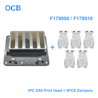 Brand New F179000 F179010 F179020 Printhead DX6 Solvent Print Head For Epson Stylus Pro 11880 11880C Printer (5Pcs Dampers Free)
