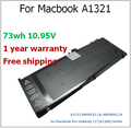 "73wh Laptop Battery for Macbook  A1321 MB985LL/A, MB986LL/A for MacBook Pro Unibody 15""(A1286) Series for apple"