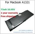 """73wh batería del ordenador portátil para MacBook A1321 MB985LL / a, MB986LL / A para MacBook Pro Unibody 15 """" ( A1286 ) Series para apple"""