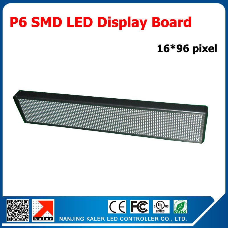 TEEHO 96*576mm Indoor Advertising RGB Led Display Panel P6 SMD LED Module 192*96MM 1/8 Scan Programmable Full Color LED DisplayTEEHO 96*576mm Indoor Advertising RGB Led Display Panel P6 SMD LED Module 192*96MM 1/8 Scan Programmable Full Color LED Display