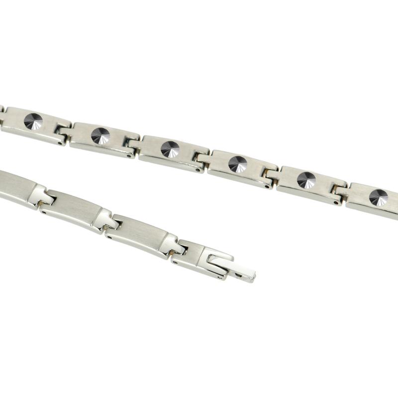 Hottime 29 PCS Full 99.9999% Germanium Necklace Pure Titanium Necklaces To Reduce Cervical Pain Prevention of cervical spondylos
