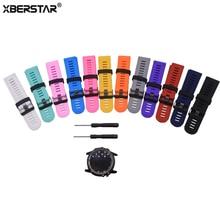 Silicone Rubber Wrist Band Watch Strap For Garmin Fenix 3 Fe