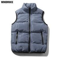 Vest Men New Stylish Autumn Winter Warm Sleeveless Jacket Waistcoat Men S Vests Thick Warm Zipper