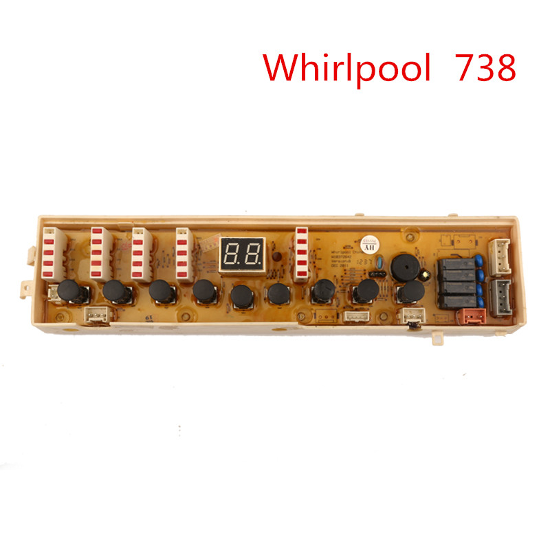 Whirlpool 738 Washing Machine Motherboard Original Washer Computer Board automatic washing machine tractor xpq 6c2 of tcl whirlpool lg samsung original washer drain valve motor