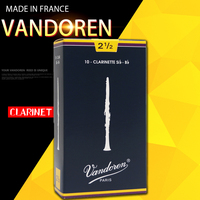 Original France Vandoren Traditional Bb Clarinet Reeds Reed For Clarinet Strength 2 0 2 5 3