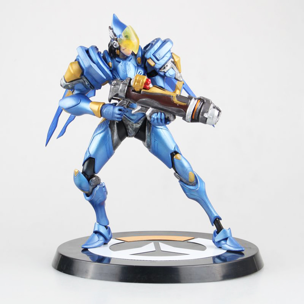 Love Thank You game watch Pharah 24CM PVC Anime figure toy Model gift new love thank you atelier kaguya all rights reserved pvc anime figure toy collectibles model gift new