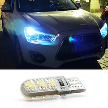 1pcs led T10 6SMD 5050 canbus car Clearance light bulbs with projector lens for mitsubishi asx lancer 10 pajero outlander 2013