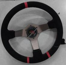 Free shipping 2014 new car modification steering wheel / nubuck leather steering wheel / racing wheel / 12 inch steering wheel