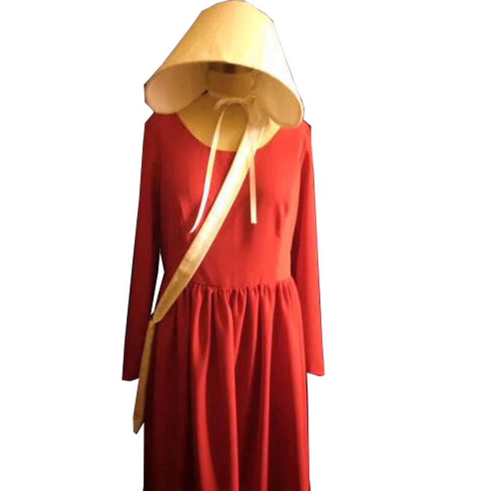 2018 The Handmaid Tale Cosplay Costume Elisabeth Moss June Osborne Offred Trench