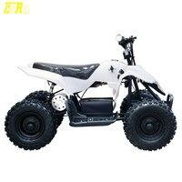 Оригинальные новые детские В 24 в 500 Вт мини квадроцикл ATV Мини Багги открытый дети 4 Wheeler велосипед Белый