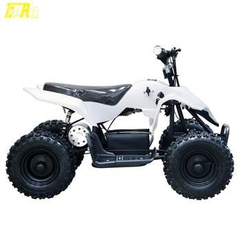 Genuine New Children 24V 500W Mini QUAD Bike ATV Mini Buggy Outdoor Kids 4 Wheeler Bike White