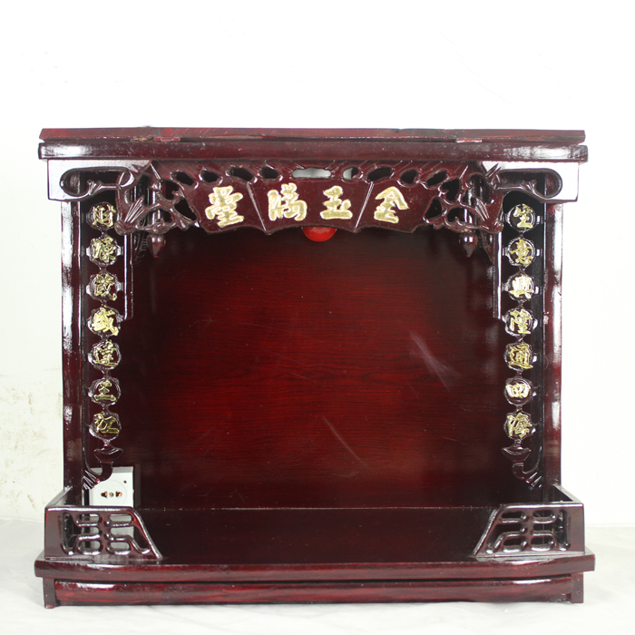 Many Buddhist shrines altar wall cabinet width cabinet for three ...
