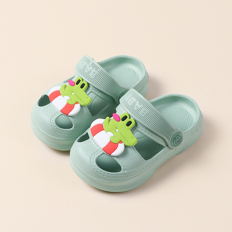 Cute Non-slip Cartoon Kids Slippers Boy Girl Baby Beach Shoes Comfortable Summer Water Outdoor Children's Slippers Sandals