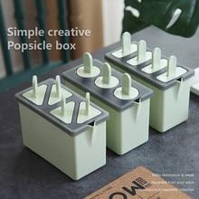 Креативные формы для Фруктового мороженого на палочке для приготовления пищи круглые прямоугольные формы многоразовые DIY Мороженое Желе производственное оборудование для холодильника