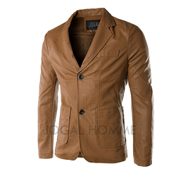 6xl leather men fall 2015 fashion slim fit leather jackets for men leather suit men leisure.jpg 250x250