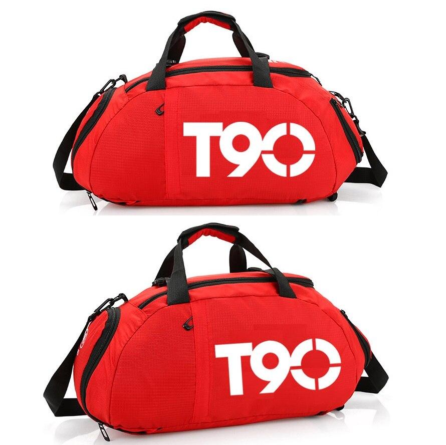 T60 Многофункциональный Портативный Gym bag независимых Обувь Карман Рюкзака прочная сумка для Для мужчин Для женщин Фитнес Training Спортивные сумки