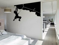 Rock Climbing Cool Creative WALL ART Sticker Mural Giant Large Decal Vinyl Transfer Home Room Decorative