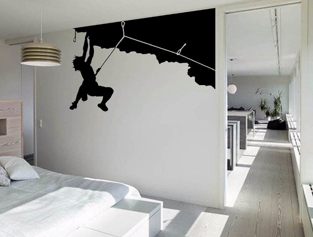 Cool Wall Art climb wall art promotion-shop for promotional climb wall art on